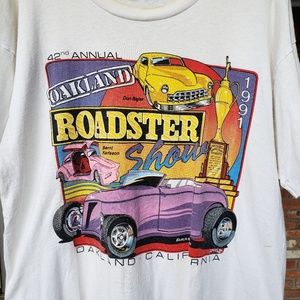 Vintage 1991 Oakland Roadster car show T rare M